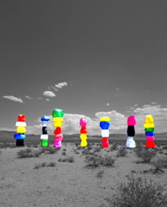 Seven (Photo)Magic Mountains
